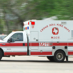 Cedar Hill Fire Department Ambulance